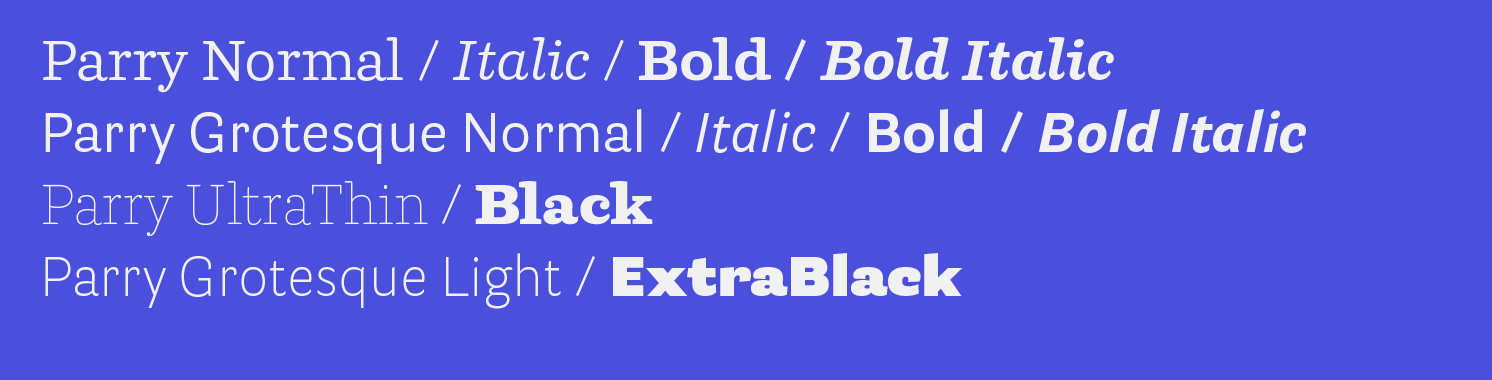 Parry Basic Editorial Pack